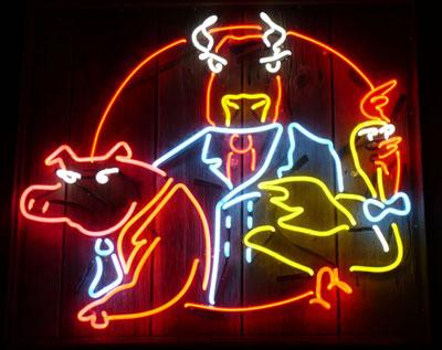 Đèn Led, neon